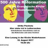Heitere Anekdoten über den Luther-Hype 2017